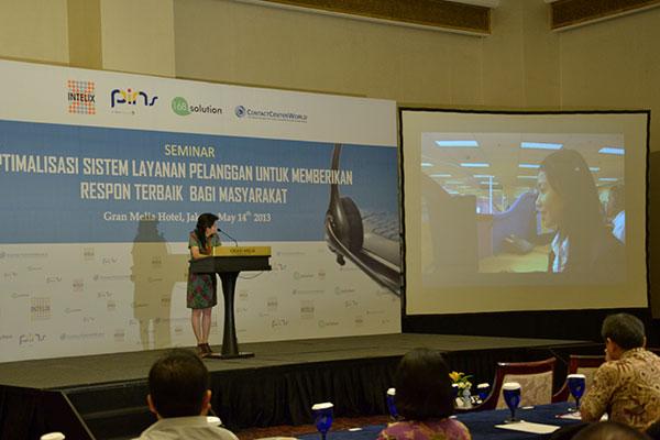 Seminar Optimalisasi Sistem Layanan Pelanggan Gran Melia
